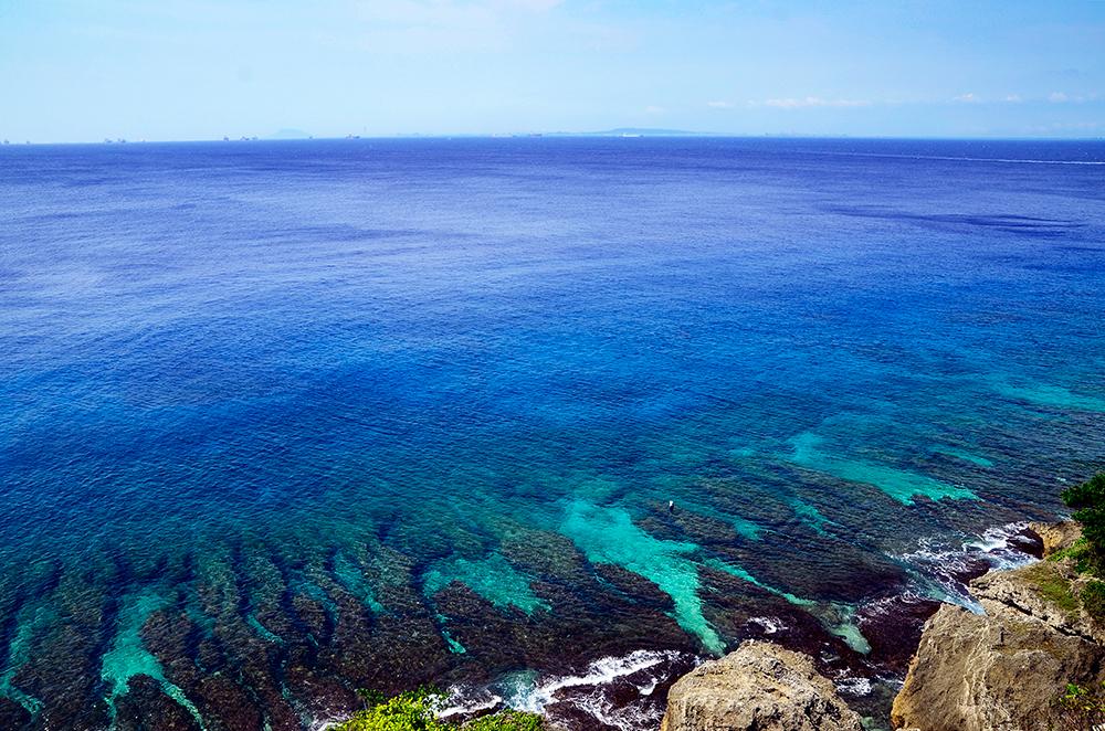 輕颱天鴿來襲,離島小琉球遊客所剩無幾。(圖/觀光局大鵬灣國家風景區管理處)